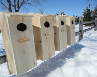 4 pack Wood Duck Nest Box