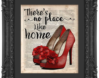 Ruby Red Shoes Wall Decal