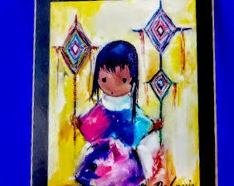 Heavenly Blessing by Ted DeGrazia