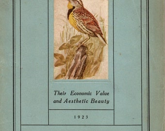 Vintage Publication, Birds of West Virginia, 1923, collected by junqueTrunque