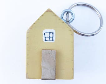 Tiny House Keyring, House Keyring, Keyring, Keychain, Key Ring, Key Chain, Key Fob, Key Chains for Women, Gift for Her, Moving Away Gift,