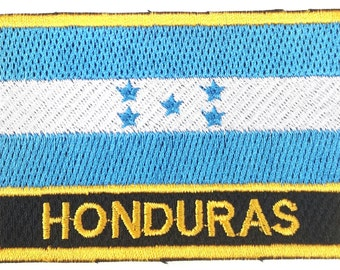 Honduras Embroidered Sew or Iron on Patch Badge