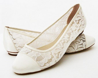 Wedding flats etsy wedding shoes shoes flat lace shoes womens wedding shoes wedding flats womens shoes wedding junglespirit Image collections