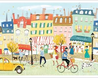 French Street Scene