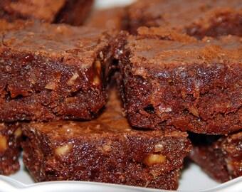 12 Maple Bacon Pecan Brownies