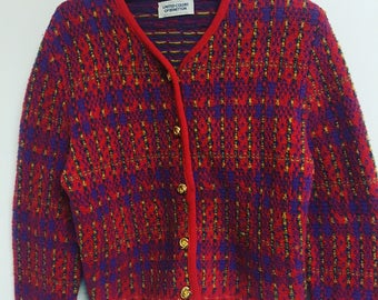 90's vintage United colors of Benetton cardigan