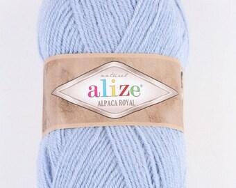 Alize Alpaca Royal 100 g, 250 m, Wool/Alpaca/Acrylic, Warm Yarn Winter Yarn Hand Knit Yarn