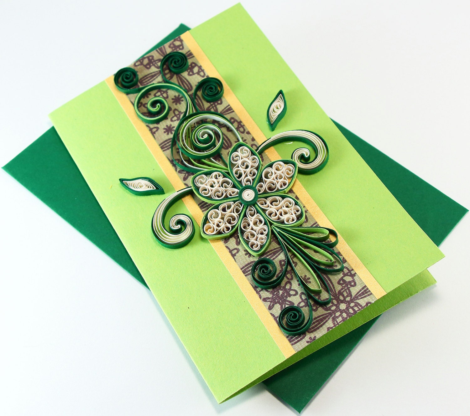 Paper quilling birthday card handmade greeting card for zoom kristyandbryce Choice Image