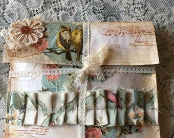 Junk Journal Embellishment & Tag Kit