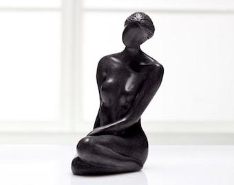 Tranquil Heart - Woman Sculpture