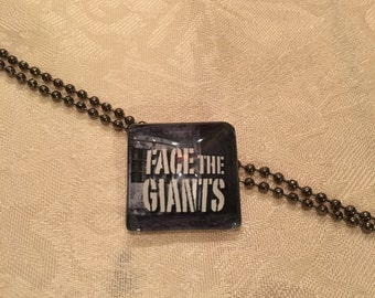 Not Just Words Necklace 'Face The Giants'