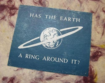 Has The Earth A Ring Around It? Book