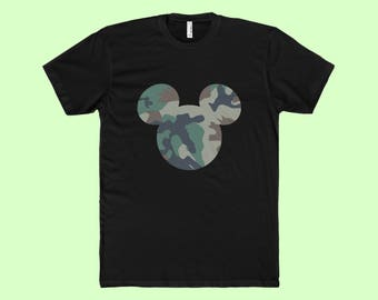 Army Mickey - Mens T-Shirt