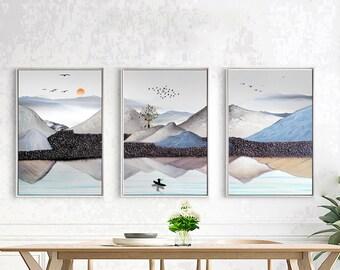 Landscape painting.  wall  decor   canvas art