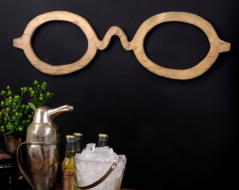 Eyeglasses Optometrist Decor Eyeglasses Sign Optometrist Wall Art