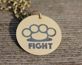 Fight Necklace