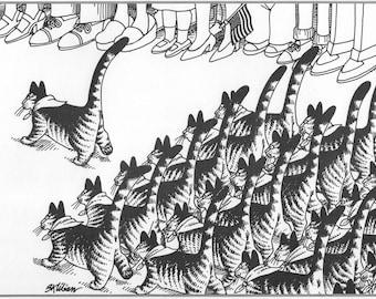 Kliban Cat Art Book Print