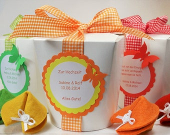 Fortune Cookies for special moments-round box