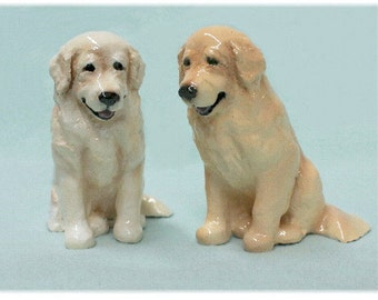 Golden Retriever Puppy Dog Figurine