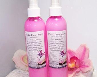 BODY SPRAY ~ Fresh Picked Strawberry type scented Body Spray 8 oz Bottle ~ Moisturizing Body Spray Lotion
