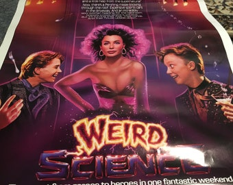 weird science movie poster 27 by 40