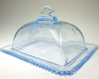 Butter glass butter dish butter container