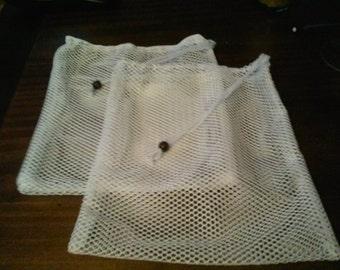 Reusable mesh produce bags - medium