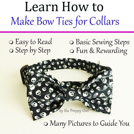Dog bow tie collar instant download learn how to make ccuart Choice Image