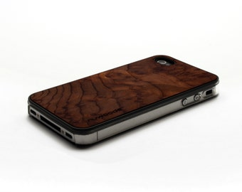 iPhone 4 Case Wood Redwood Burl, Wood iPhone 4S Case Wood iPhone 4 Case, iPhone 4 Wood Case, iPhone 4S Wood Case, iPhone Case