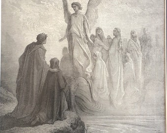 Dante Alighieri Divine Comedy printed page