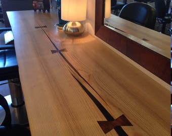 Live Edge Counter Wood Countertops Wood Slab Counter Island