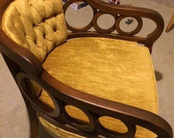 Vintage club chairs