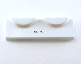 Blonde Doll Eyelashes - EL 40- Vintage Doll Eye Lashes