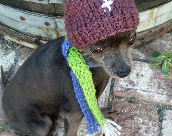 Dog hat footfall size small