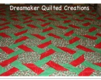 Holly Jolly Christmas Quilt SALE