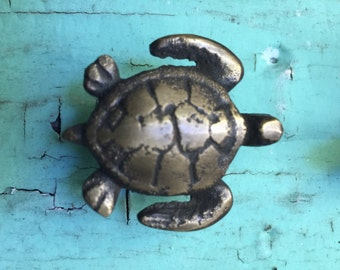 Sea Turtle Drawer Pull / Cabinet Pull / Knob / Handle