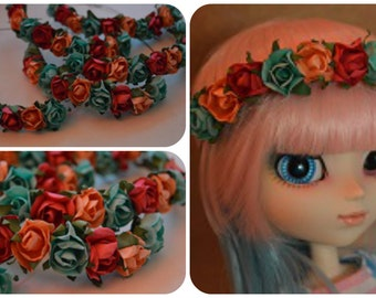 Wreath for Pullip (color choice!)