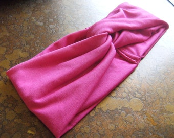 Fuchsia Turban Headband