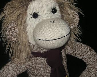 Hermione - Harry Potter Friend  Sock Monkey Doll