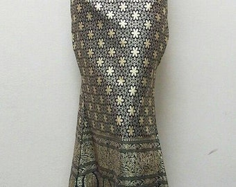 Songket Long Maxi Skirt