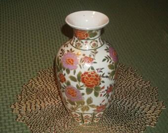 Vintage/ Porcelain Floral Vase