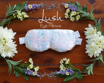 Dahlia - Linseed and Lavender Eye Pillow