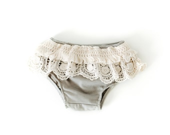 Boho Bloomers In Gray