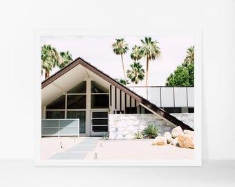 Palm Springs Photography, Mid Century Modern Architecture, Mid Century Home Decor, Palm Springs Print, California Art, California Print