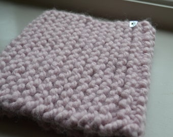Candy Floss Knitted Snood