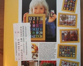Crafting kit Source Advent calendar 70s 70s 80s Graziela-style vintage shabby
