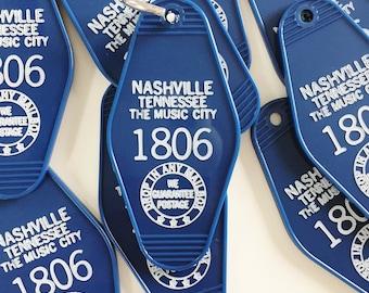 Nashville, Tennessee Motel Keychain
