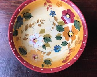 Oneida Sunset Bouquet Soup Bowls