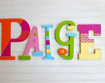 Kids Name Letters - Mixed Font - Nursery Decor - Kids Room Decor - Kids Wall Art - Boy Name - Girl Name - Baby Name