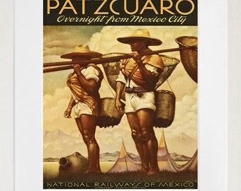Mexico Poster Travel Art Print Home Decor (TR66)